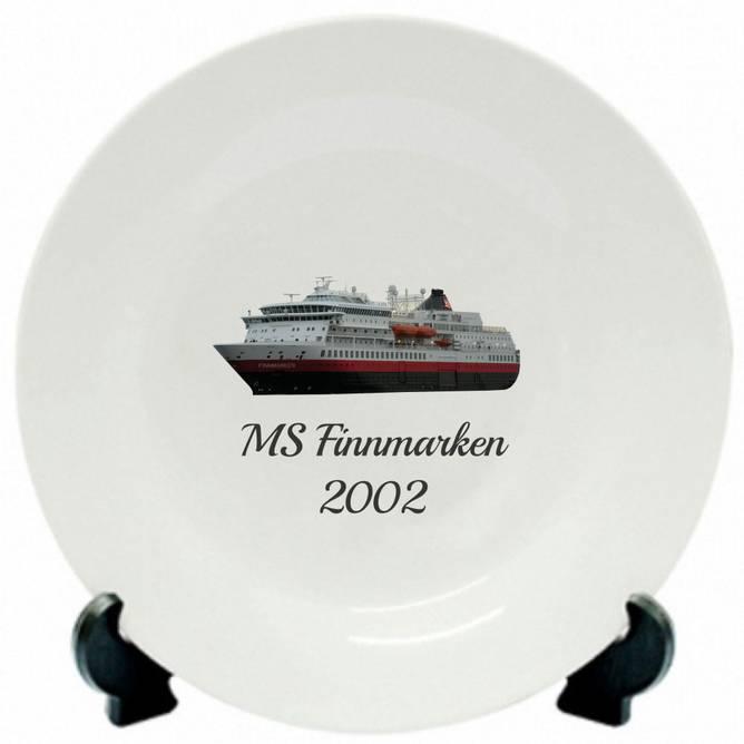 Bilde av Tallerken MS Finnmarken 2002