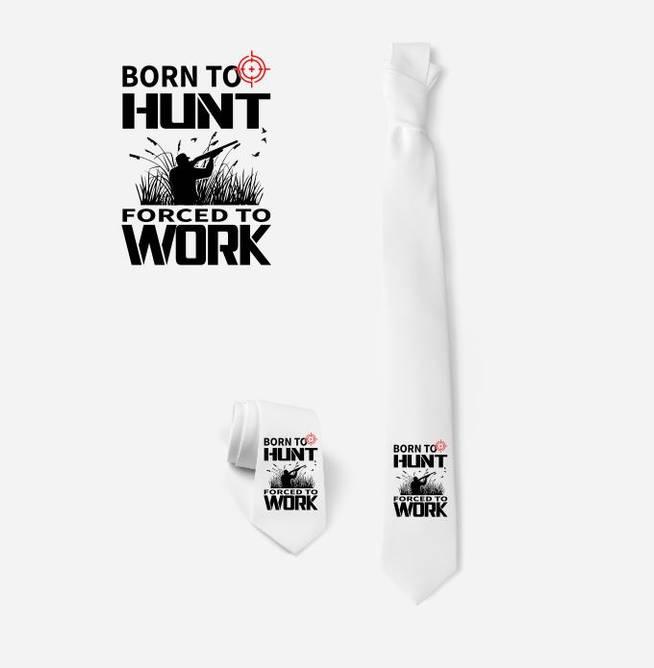 Bilde av Slips Born to hunt forced to work