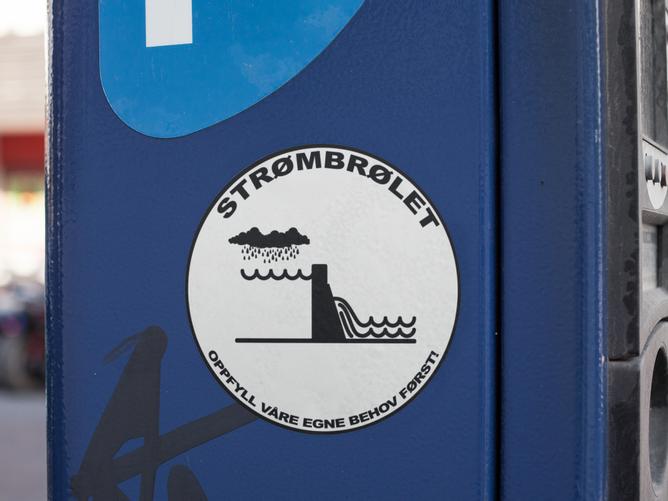 Bilde av Strømbrølet Klistremerke