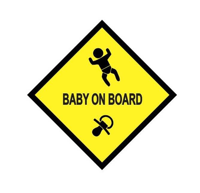 Bilde av Baby On Board Klistremerke