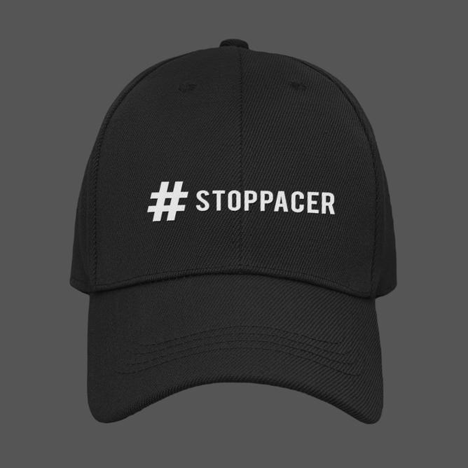 Bilde av Brodert caps #STOPPACER