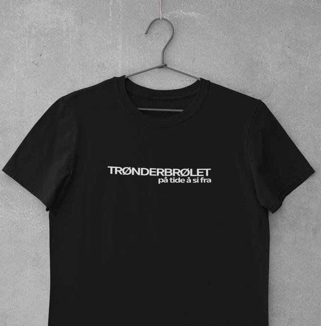Bilde av TRØNDERBRØLET på tide å si fra t-skjorte